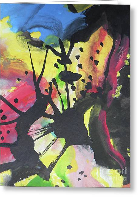 Abstract-2 Greeting Card