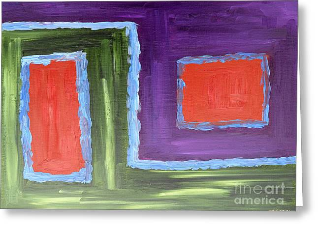 Abstract 200 Greeting Card by Patrick J Murphy