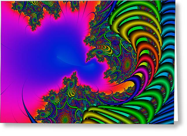 Abstract 2009041104 Greeting Card by Rolf Bertram