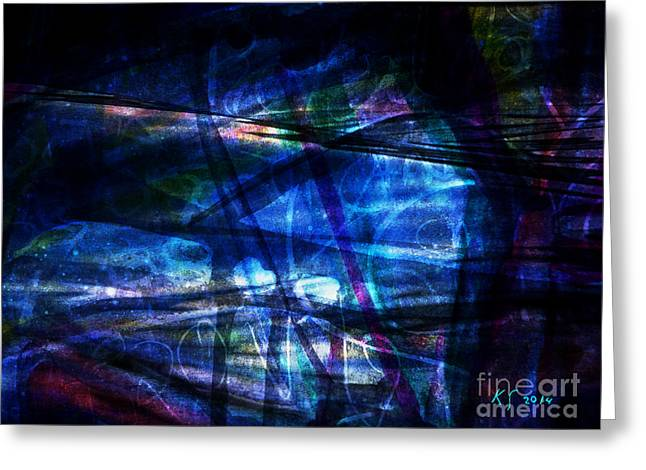Abstract-20a Greeting Card