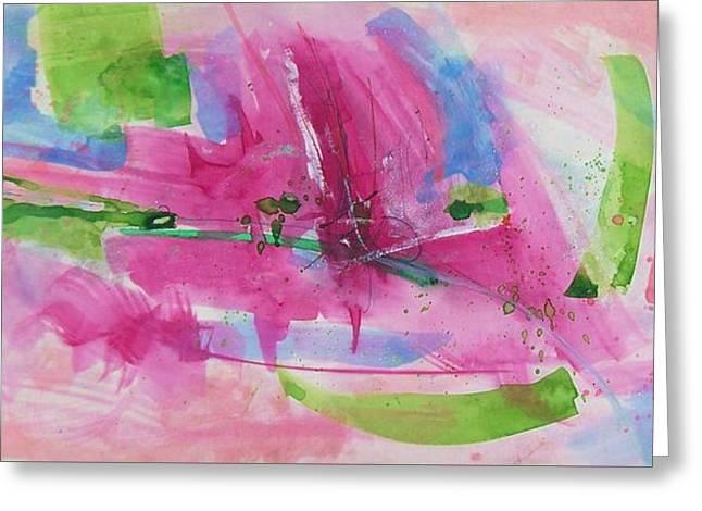 Abstract #219 Greeting Card