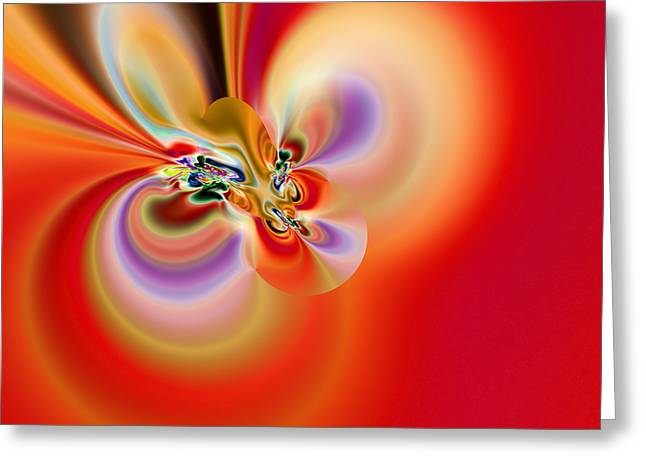 Abstract 239 Greeting Card by Rolf Bertram