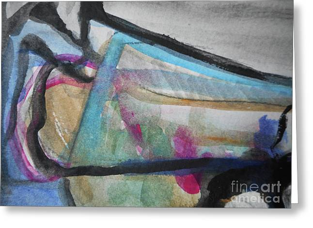 Abstract-24 Greeting Card