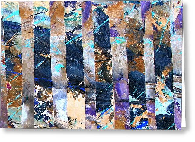 Abstract-241 Greeting Card by Jay Bonifield