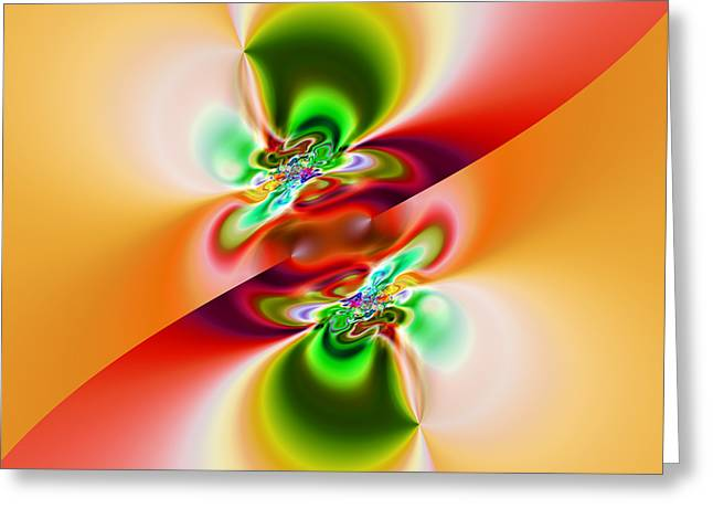 Abstract 241 Greeting Card by Rolf Bertram