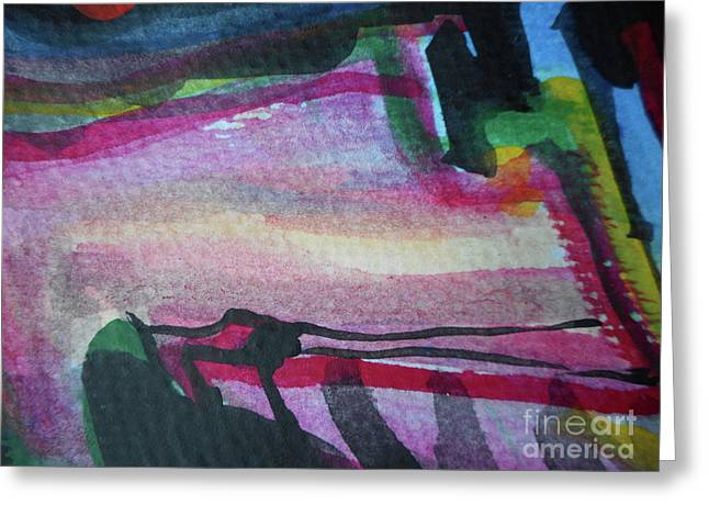 Abstract-25 Greeting Card