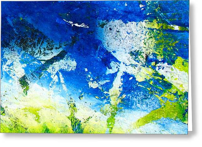 Abstract-256 Greeting Card by Jay Bonifield