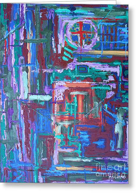 Abstract 27 Greeting Card by Patrick J Murphy