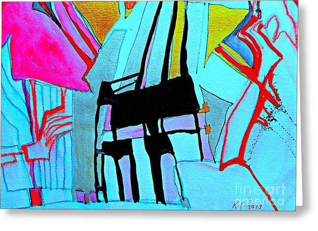 Abstract-28 Greeting Card
