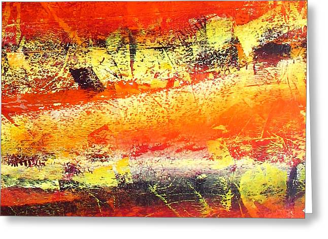 Abstract-291 Greeting Card by Jay Bonifield