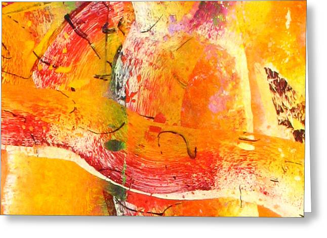 Abstract-292 Greeting Card by Jay Bonifield