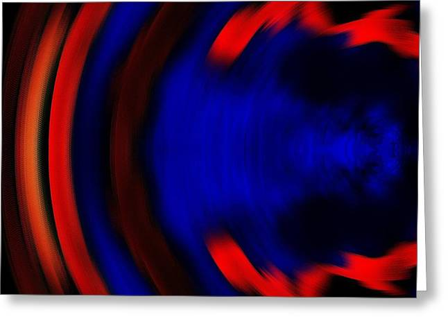 Abstract 3 Greeting Card by Paulo Guimaraes