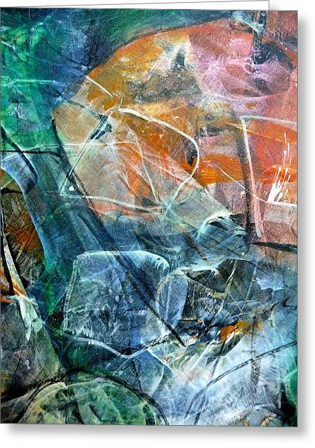Abstract #326 - Happy Hour Greeting Card