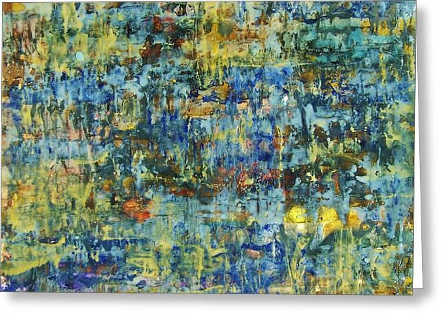 Abstract #329 Greeting Card