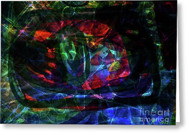Abstract-34 Greeting Card