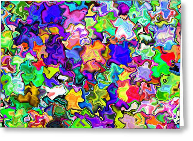 Abstract 369 Greeting Card by Rolf Bertram