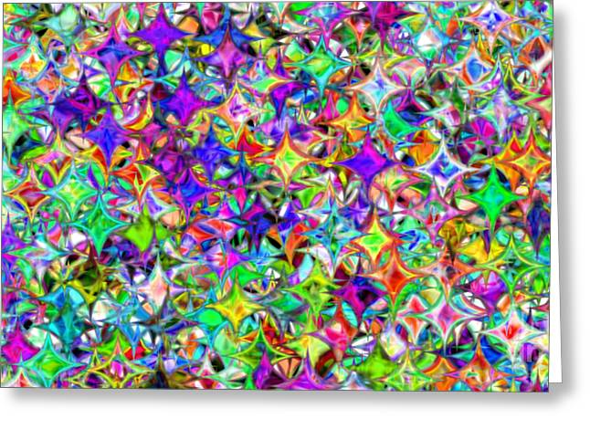 Abstract 385 Greeting Card by Rolf Bertram