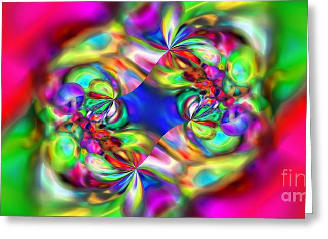 Abstract 392 Greeting Card by Rolf Bertram