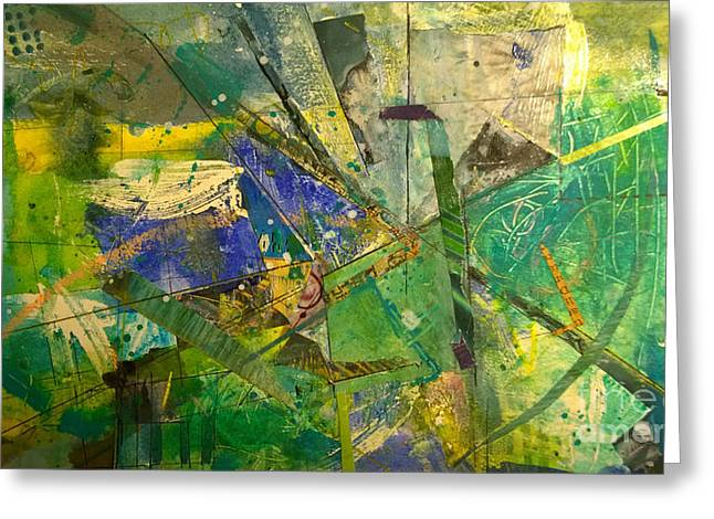 Abstract #41715 Greeting Card