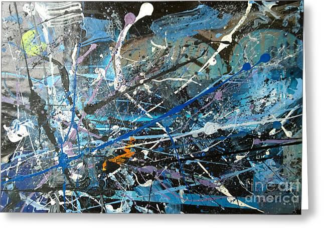 Abstract #419 Greeting Card