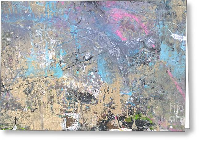 Abstract #42115a Greeting Card