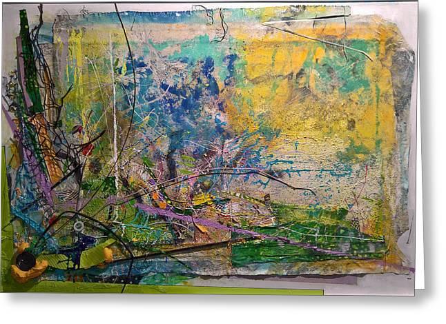Abstract #42217 Greeting Card