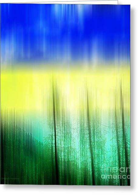 Abstract 43 Greeting Card