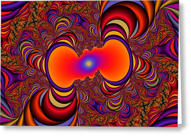 Abstract 43 Greeting Card by Rolf Bertram