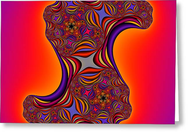 Abstract 44 Greeting Card by Rolf Bertram