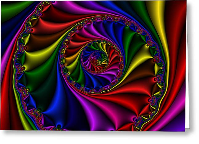 Abstract 508 Greeting Card by Rolf Bertram