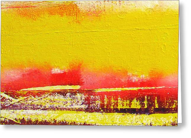 Abstract-512 Greeting Card by Jay Bonifield