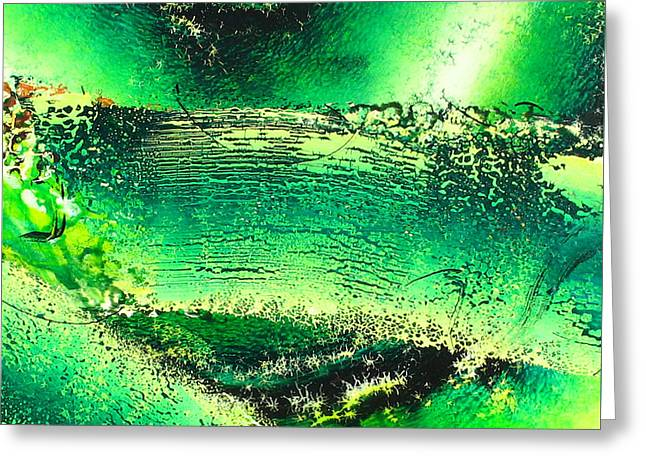 Abstract-513 Greeting Card by Jay Bonifield