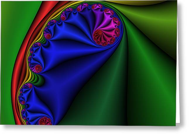 Abstract 513 Greeting Card by Rolf Bertram