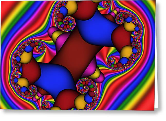 Abstract 514 Greeting Card by Rolf Bertram