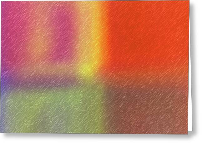 Abstract 5791 Greeting Card