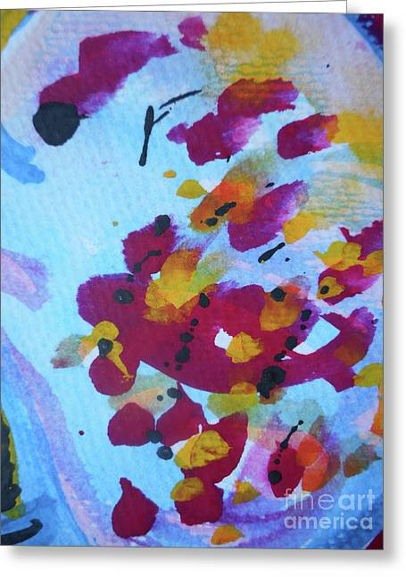 Abstract-6 Greeting Card