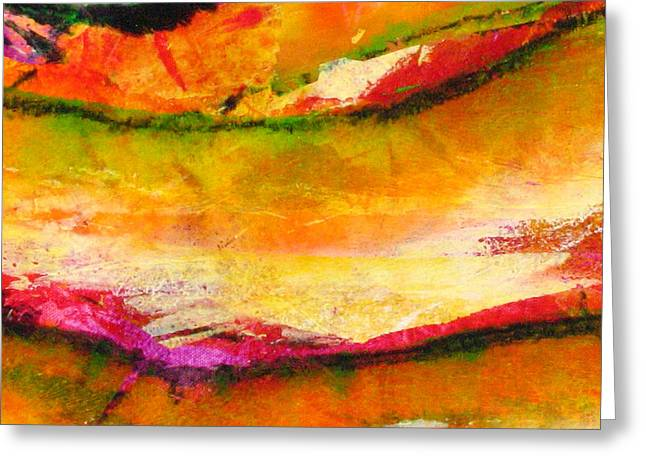 Abstract-606 Greeting Card by Jay Bonifield