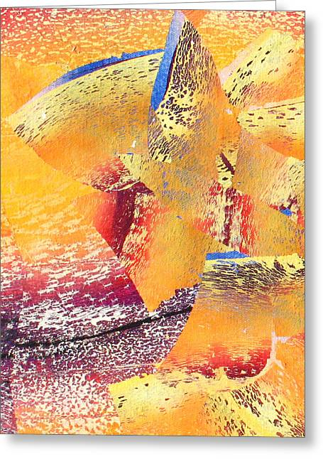 Abstract-608 Greeting Card by Jay Bonifield