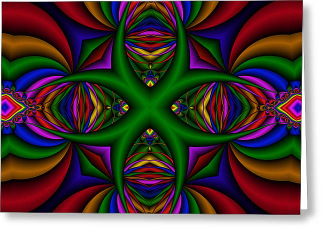 Abstract 609 Greeting Card by Rolf Bertram