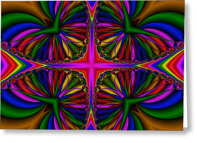 Abstract 610 Greeting Card by Rolf Bertram