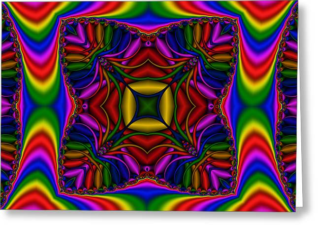 Abstract 615 Greeting Card by Rolf Bertram
