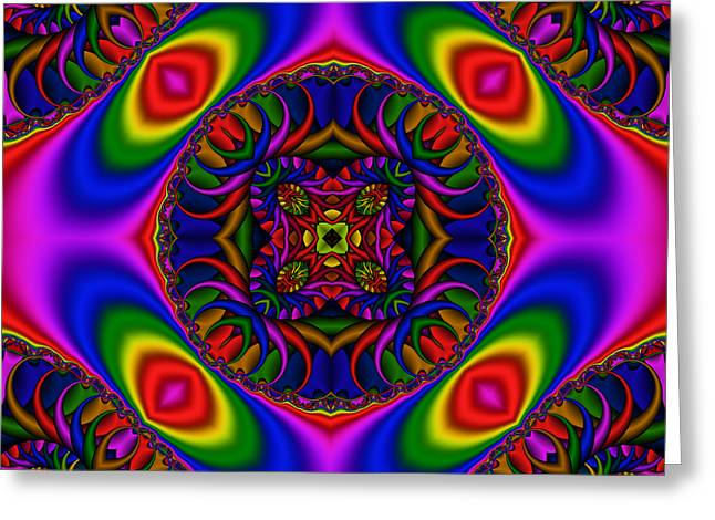 Abstract 616 Greeting Card by Rolf Bertram