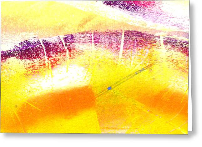 Abstract-659 Greeting Card by Jay Bonifield