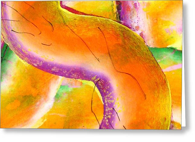 Abstract-671 Greeting Card by Jay Bonifield