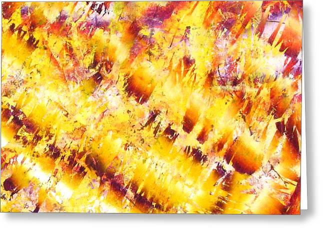 Abstract-673 Greeting Card by Jay Bonifield