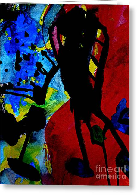 Abstract-7 Greeting Card