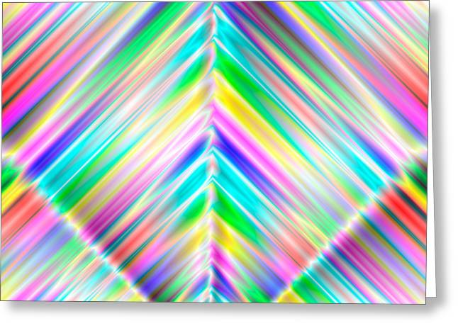 Abstract 700 Greeting Card by Rolf Bertram