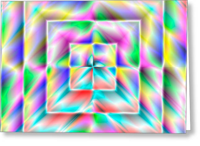 Abstract 729 Greeting Card by Rolf Bertram