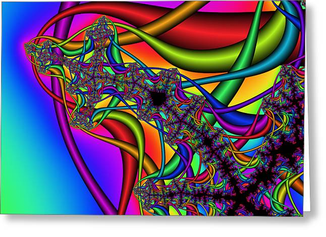 Abstract 73 Greeting Card by Rolf Bertram