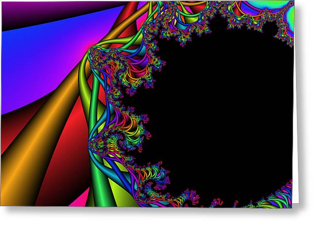 Abstract 74 Greeting Card by Rolf Bertram